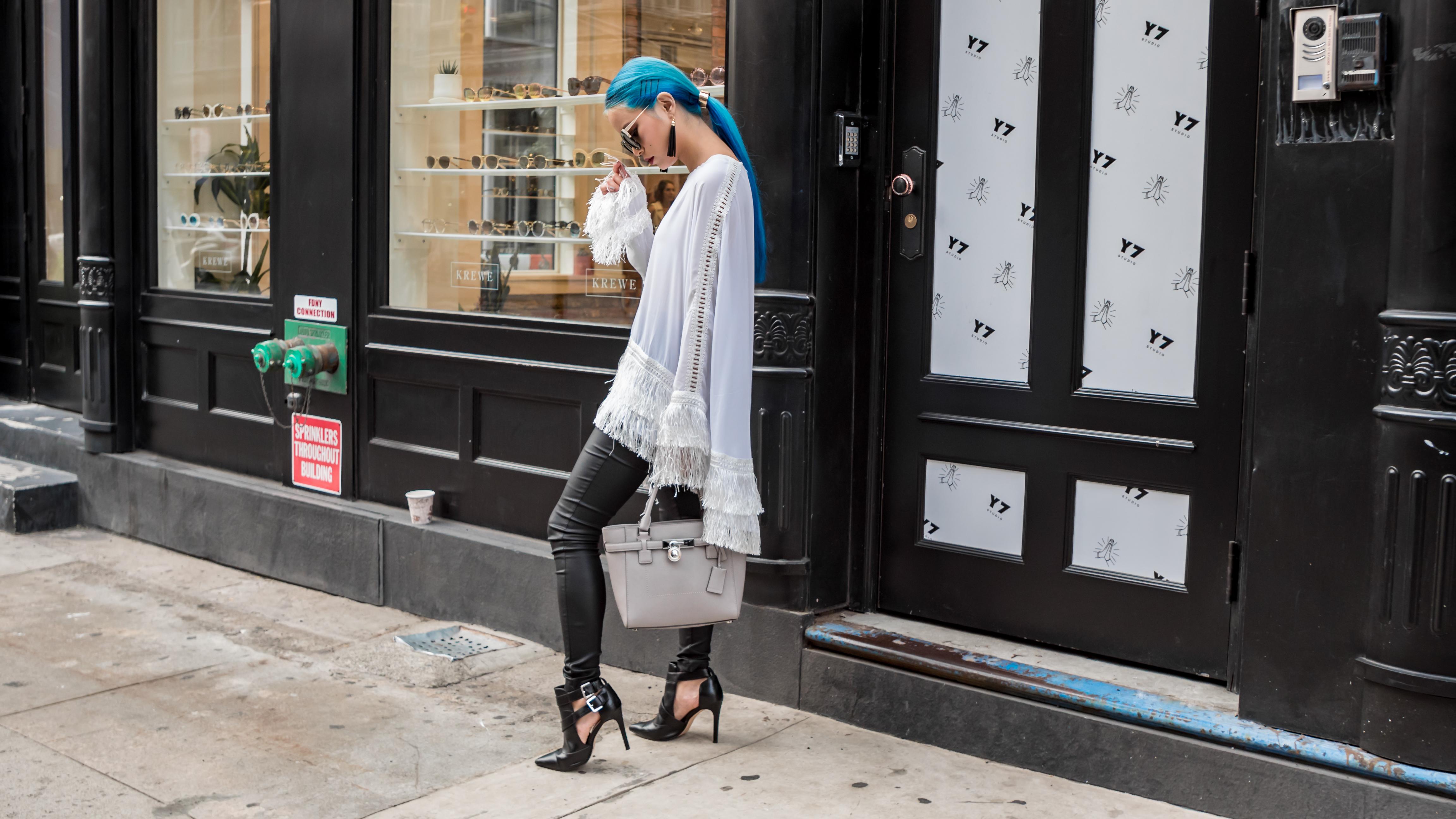 Fashion Week - NYFW Street Style by TheYukiBomb.com