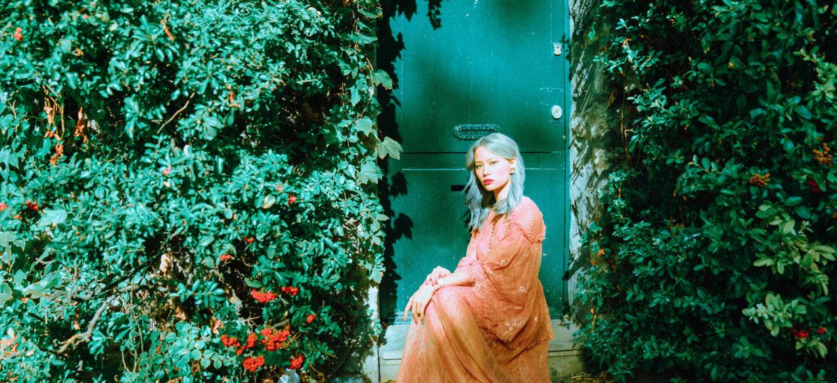 Blush Pink Dress Romance in Paris
